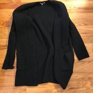 Madewell black thick cardigan